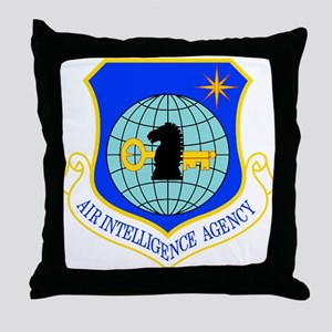 Air Intelligence Agency Throw Pillow