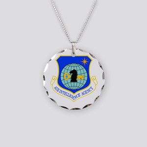 Air Intelligence Agency Necklace Circle Charm