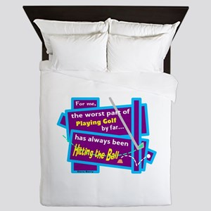 Hitting The Ball/Dave Barry Queen Duvet