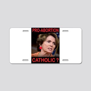 EX-CATHOLIC ? Aluminum License Plate
