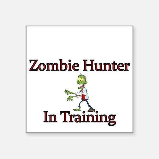 Zombie Hunter in Training Sticker