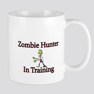 Zombie Hunter in Training Mugs