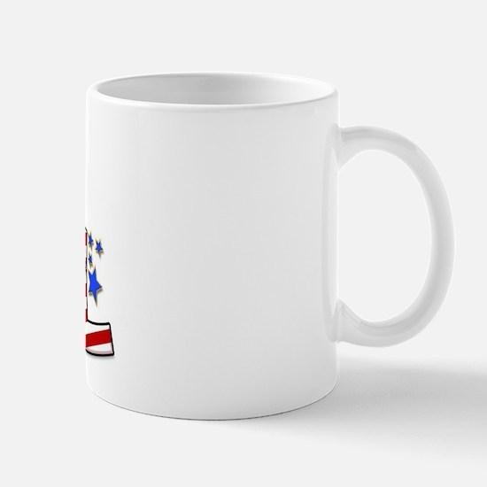 I Love ASL & the USA! Mug