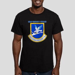 Defensor Fortis Men's Fitted T-Shirt (dark)