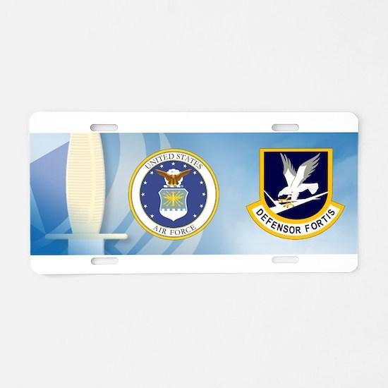 Defensor Fortis Aluminum License Plate