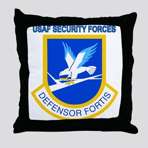 Defensor Fortis Throw Pillow