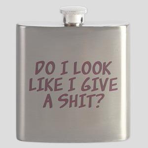 Do I Look Like I Give A Shit? Flask