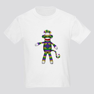 Mardi Gras Sock Monkey T-Shirt