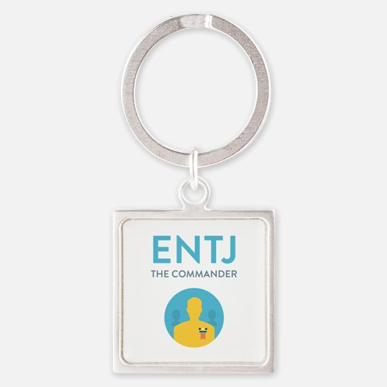 ENTJ Square Keychain