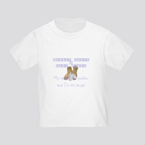 Combat Boots & Baby Shoes Toddler T-Shirt