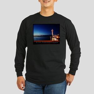 Dobbins Landing at Twilight Long Sleeve T-Shirt