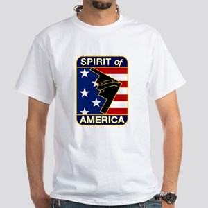 B-2 Stealth Bomber White T-Shirt
