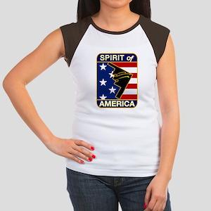 B-2 Stealth Bomber Women's Cap Sleeve T-Shirt