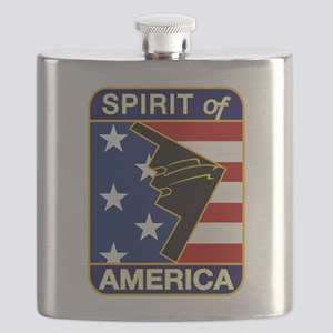 B-2 Stealth Bomber Flask
