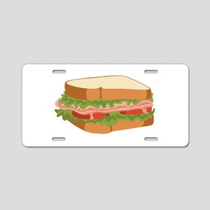 Sandwich Aluminum License Plate