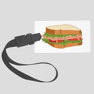 Sandwich Luggage Tag