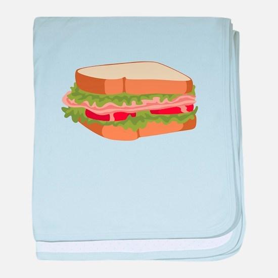 Sandwich baby blanket