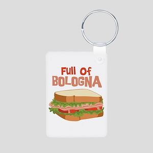 Full Of Bologna Keychains