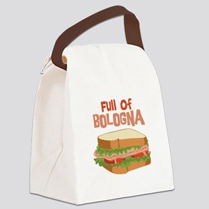 Full Of Bologna Canvas Lunch Bag