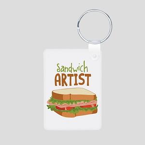 Sandwich Artist Keychains