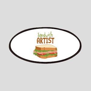 Sandwich Artist Patches