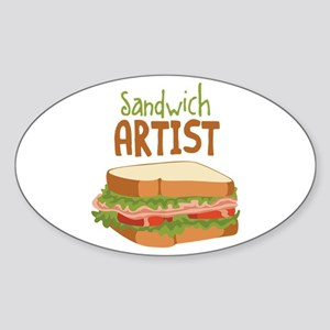 Sandwich Artist Sticker