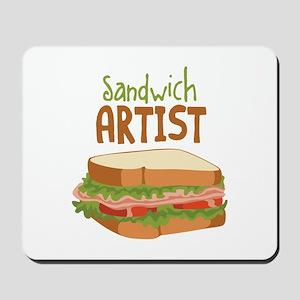 Sandwich Artist Mousepad