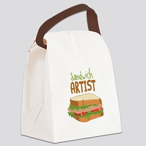 Sandwich Artist Canvas Lunch Bag
