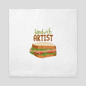 Sandwich Artist Queen Duvet