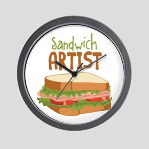 Sandwich Artist Wall Clock