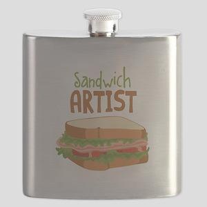 Sandwich Artist Flask