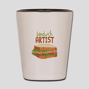 Sandwich Artist Shot Glass