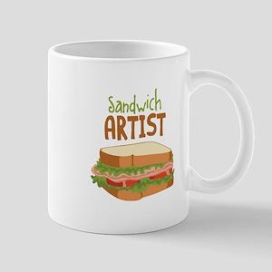 Sandwich Artist Mugs