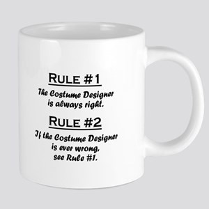 Costume Designer Large Mugs