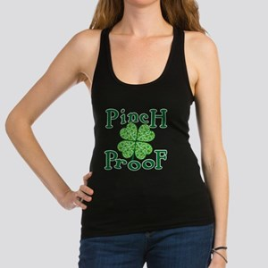 PINCH PROOF St. Patrick's Day Racerback Tank Top