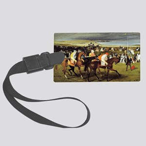 Degas - At the Races, The Start Large Luggage Tag