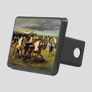 Degas - At the Races, The  Rectangular Hitch Cover