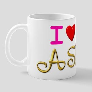I Love ASL & Cute Mice! Mug