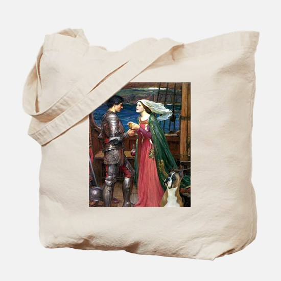 Knight & Boxer Tote Bag