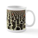 Stockyard of Cylinders Mugs