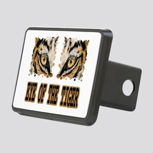 Eye Of The Tiger Rectangular Hitch Cover
