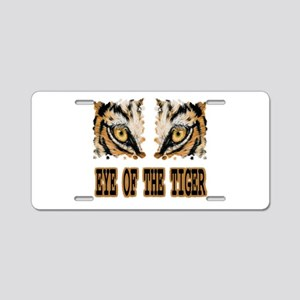 Eye Of The Tiger Aluminum License Plate