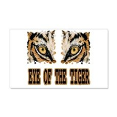 Eye Of The Tiger Wall Sticker