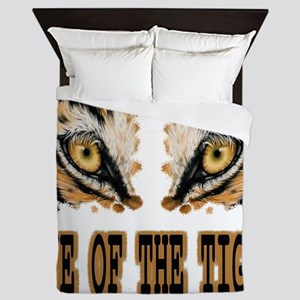 Eye Of The Tiger Queen Duvet