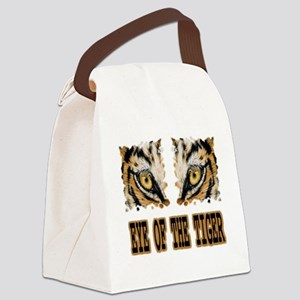 Eye Of The Tiger Canvas Lunch Bag