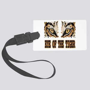 Eye Of The Tiger Large Luggage Tag