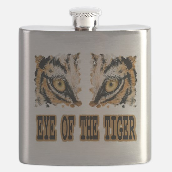 Eye Of The Tiger Flask
