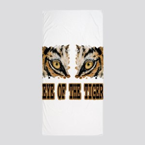 Eye Of The Tiger Beach Towel