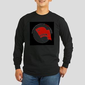 poum-front-black Long Sleeve T-Shirt