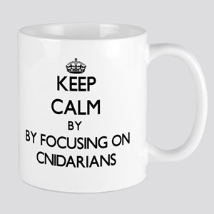 Keep calm by focusing on Cnidarians Mugs